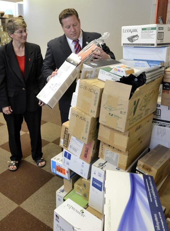 VIDEO: Unused ink cartridges to benefit two area non-profits - troyrecord.com
