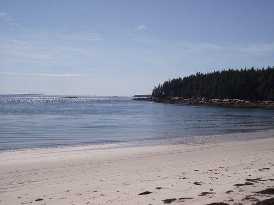 Fine Sand Beach on Swans Island