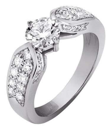 Mariage Chaumet | Solitaire Plume