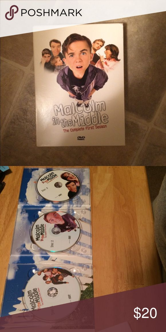 Malcom in the Middle, season 1 Malcom in the Middle. Complete first season. New condition. Other