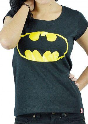 Playera para Mujer de Batman en Color Negro. Si quieres ver mas productos de #DCcomics, checa nuestro link donde tenemos los mejores modelos listos para ti con envíos a todo #Mexico.