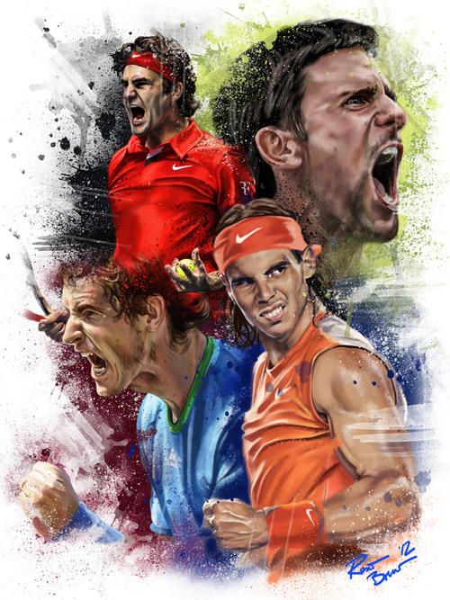 great tennis art