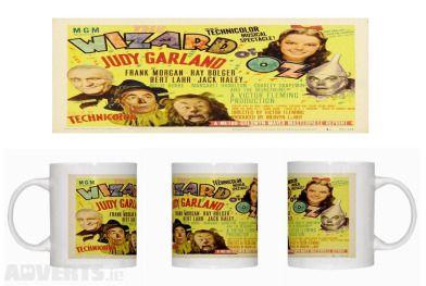 Wizard of Oz - Judy Garland - Mug A - New - Casablanca - Mug   Size approx.: 80 mm diameter x 92 m...