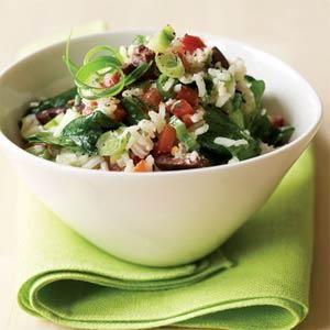 Mediterranean Rice Salad Recipe | MyRecipes.com