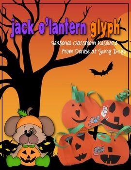 free jack olantern glyph halloween - Halloween Glyphs