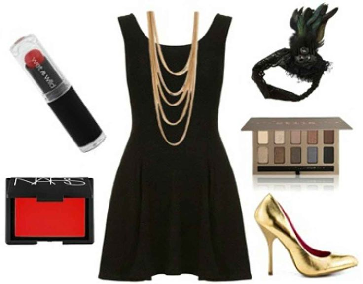 13 Little Black Dress Halloween Costume Ideas - College Fashion - flapper costume