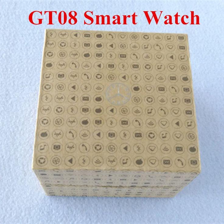 Smart Armbanduhren GT08 MTK SmartWatch Uhr Sync Notifier Unterstützung Sim-karte GSM Bluetooth Für Android Tragbare Geräte //Price: $US $15.83 & FREE Shipping //     #clknetwork