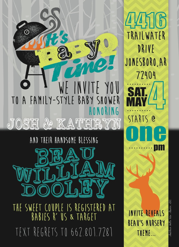printable couples baby shower invitation baby q shower