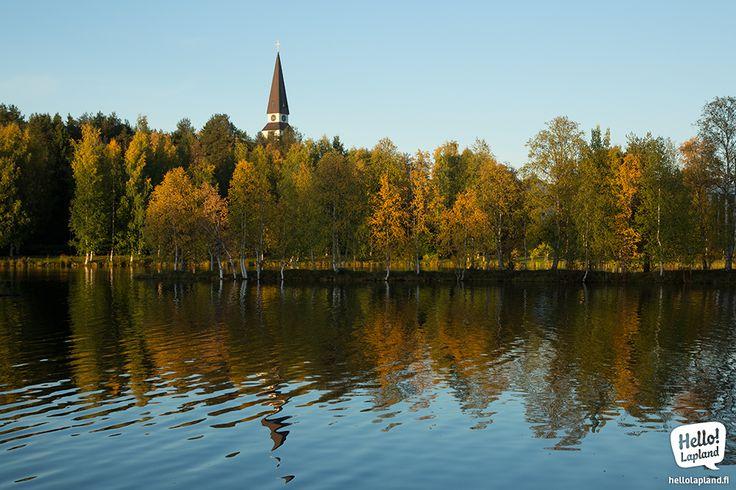 Golden Autumn –Ruska – in Rovaniemi.