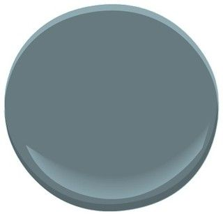 32 best images about dining room in grey on pinterest for Benjamin moore slate grey