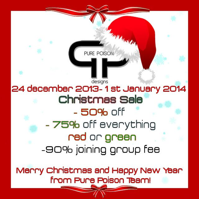 Pure Poison - Christmas Sale | Flickr - Photo Sharing!