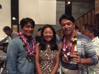 さとうあつこのハワイ不動産: 塚田農場のオープニングパーティーに行きました