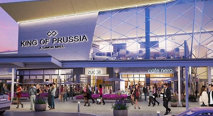 The King of Prussia Mall, which attracts more than 25 million visitors each year, is expanding in 2016. The two-story expansion brings another 250,000 square feet of retail space, uniting what was formerly two separate #mall buildings, and eliminating the need for an outdoor walk between them. The new space will feature 50 new retailers, as well as a food court experience showcasing high-profile chefs.