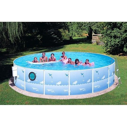 Outdoors Inflatable Swimming Pool Patio Family Garden Round Ladder Backyard Hole #OutdoorsInflatableSwimmingPool