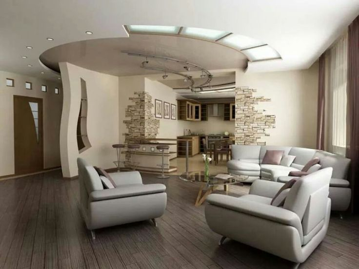 Elegant Beauty Your Room Interior With Wonderful Ceiling Design Ideas : Rustic  Living Room Design With Brown White Ceiling And Soft Lighting Deas  Including ... Photo Gallery