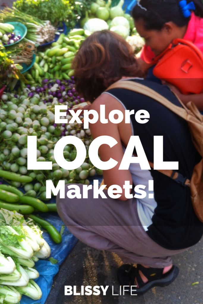 Let Your Mouth Do The Exploring In Local Markets!