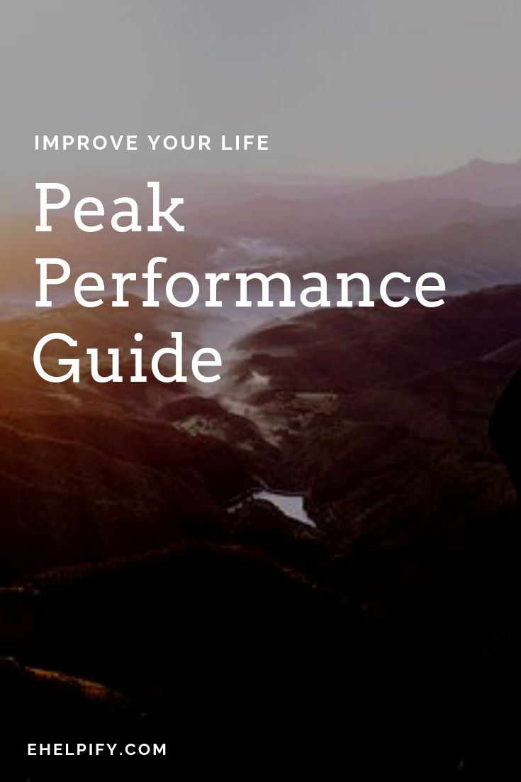 """the important factors to achieve peak performance in racing The term """"peak performance"""" is defined as a state in which a person performs to their maximum ability swimmers who achieve peak performance in competition exhibit a high level of confidence, technical accuracy, and effortless execution."""