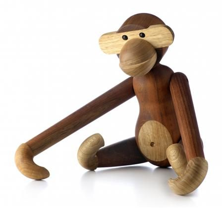 Kaj Bojesen wooden monkey.