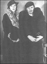 """Beulah and Rose Baird - Beulah is taken with Floyd, so taken that it is she that gives the outlaw the nickname """"Pretty Boy"""")."""