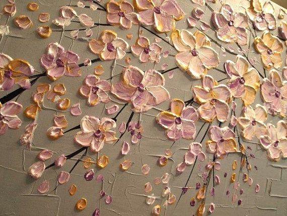 CUSTOM ORDER XLarge gallery wrap canvas Original por artmod en Etsy