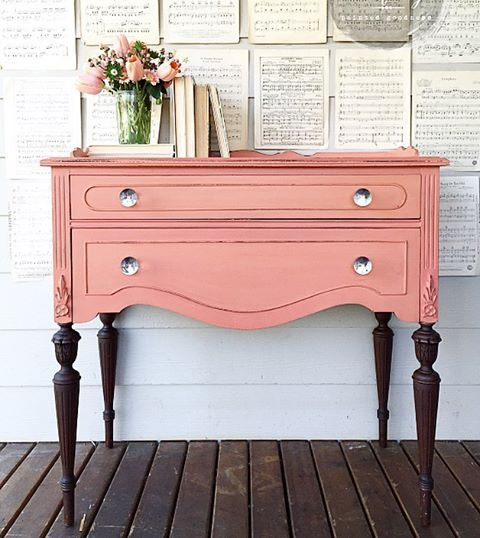 Good INSTAGRAM   FERPIE U0026 FRAY ~~~~~~~~~~~. Refinished TableDresser TableRefurbished  FurniturePink ...