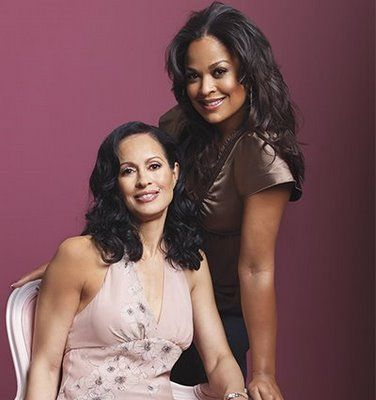 Laila Ali and her beautiful mother.
