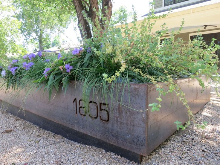 Charming Custom Modern Steel Planters, Railing And Architectural Metalwork | Sarabi  Studio