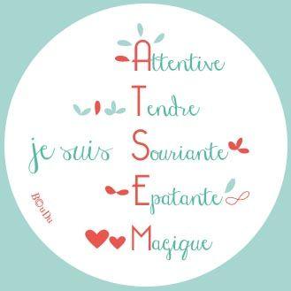 cadeau, ATSEM, miroir, école, merci, maternelle, idée cadeau, fin de l'année, miroir, miroir de poche, idée cadeau