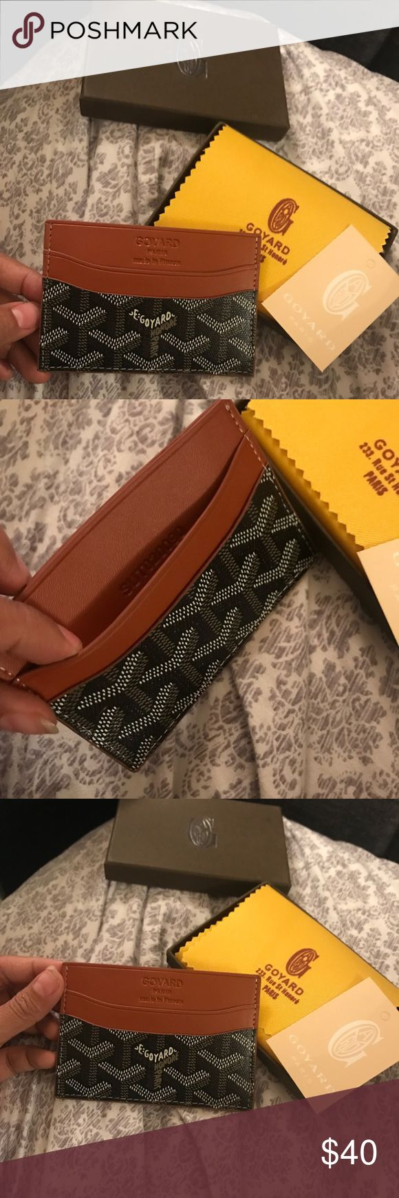 Goyard Card Holder Brand New with Box & original packaging. Great gift. Make offers. Goyard Accessories Key & Card Holders