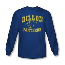 FRIDAY NIGHT LIGHTS DILLON PANTHERS Licensed Men's Long Sleeve Tee Shirt SM-2XL
