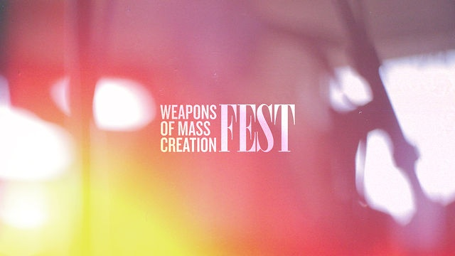 WMC Fest 2012 is happening! The premier art, design, music event in the Midwest. You can get your tickets at http://wmcfest.com