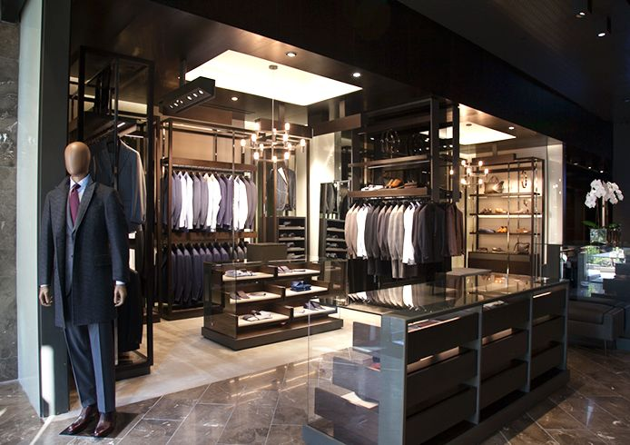 Men clothes store