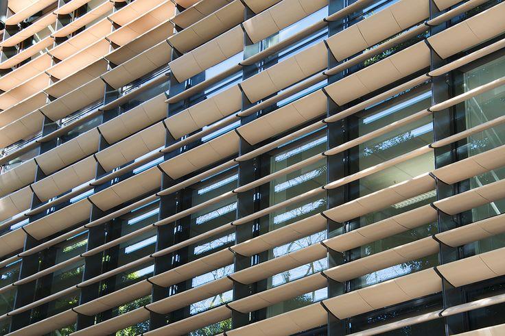North facade detail, Tyree Building, UNSW Australia