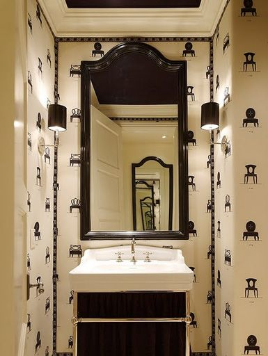 Picture Gallery Website  best Powder Bathrooms images on Pinterest Room Bathroom ideas and Dream bathrooms