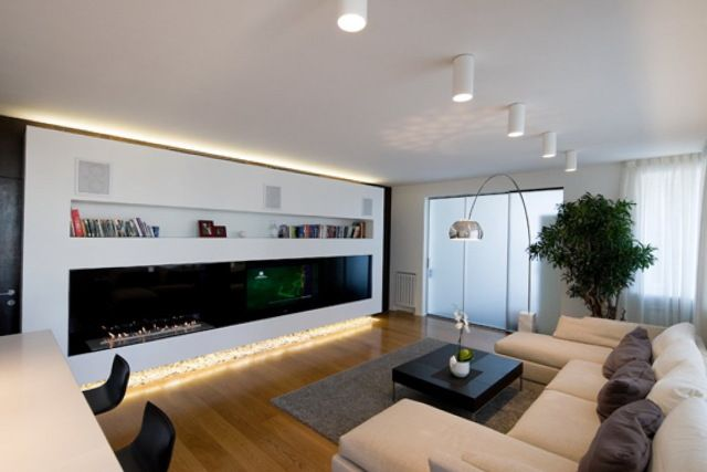 Proper Living Room Lighting Ideas Apartment To Exaggerate The Beauty Of The Room Living Room Lig Beige Living Rooms Living Room Modern Small Apartment Design
