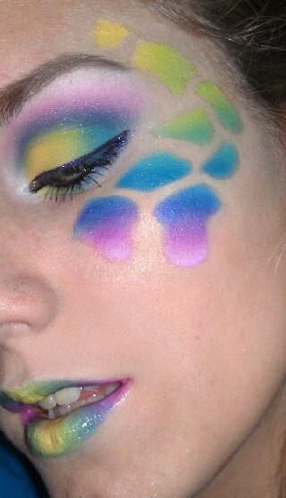 Rave make up!