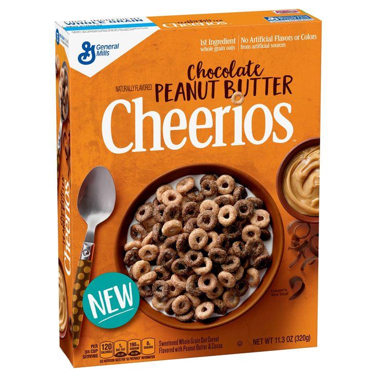 Cheerios Chocolate Peanut Butter Breakfast Cereal - 11.3oz - General Mills