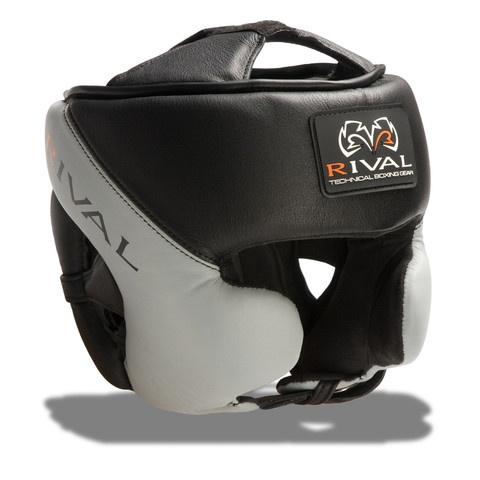 Rival RHG-Pro Training headgear. Black & Grey version.