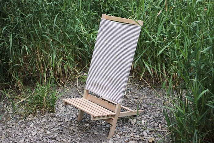 DIY Wooden Camp/Beach Chair