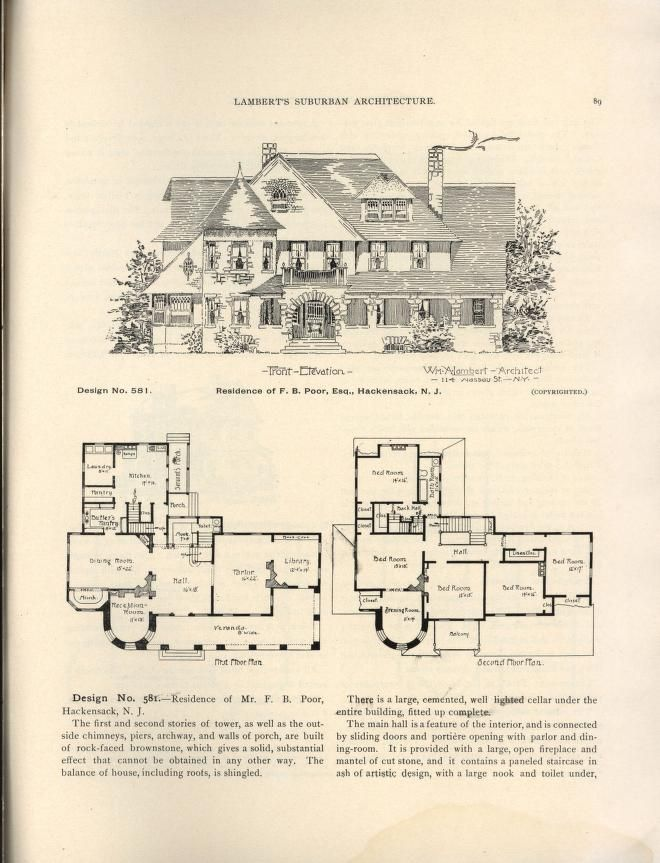 17 best images about 1800 39 s 1940 39 s house plans on for Suburban house plans