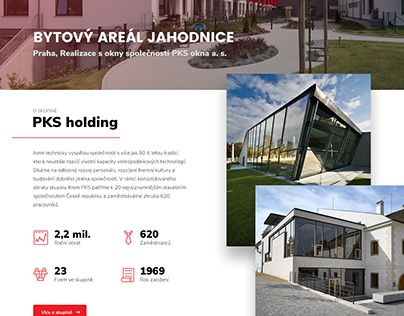 """Check out new work on my @Behance portfolio: """"PKS holding a.s."""" http://be.net/gallery/59854745/PKS-holding-as"""