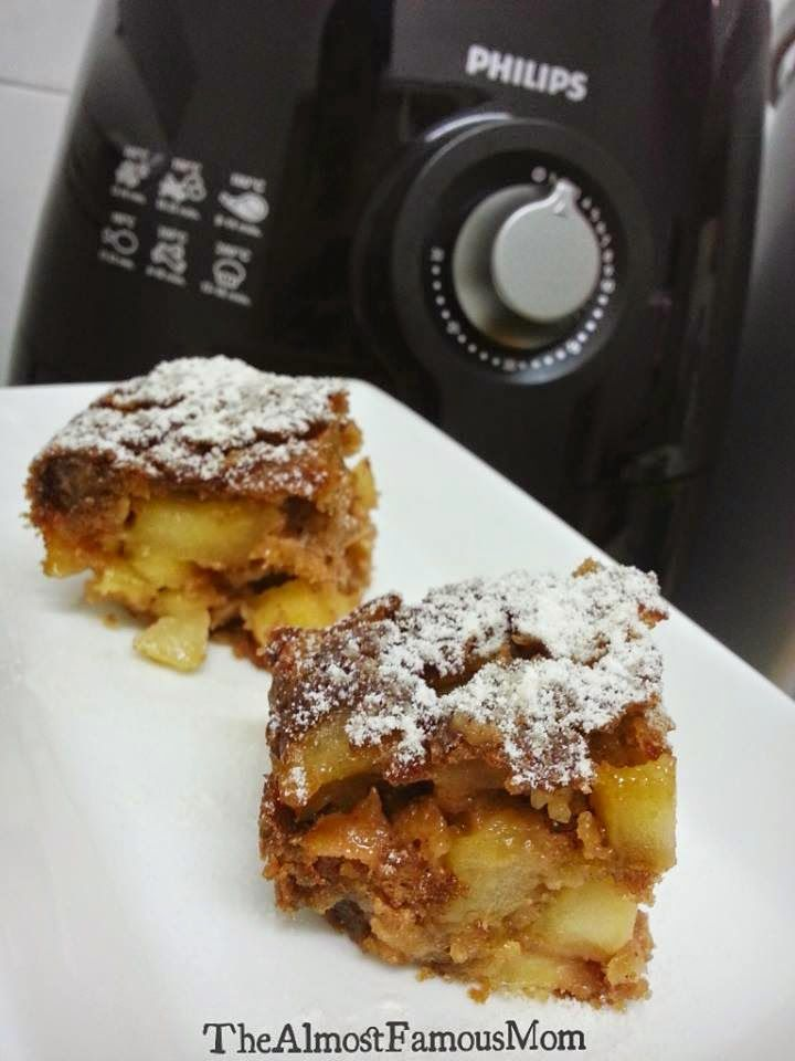 The Almost Famous Mom: AirBaked German Apple Cake (Apfelkuchen)