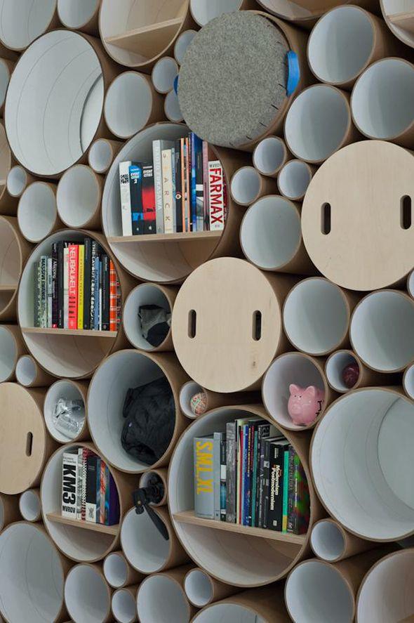 Softlab cardboard storage
