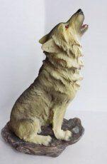Huilende wolf 20 cm