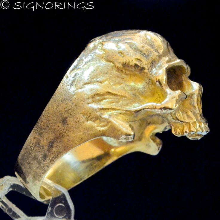 13 best 14K Gold Skull Rings images on Pinterest