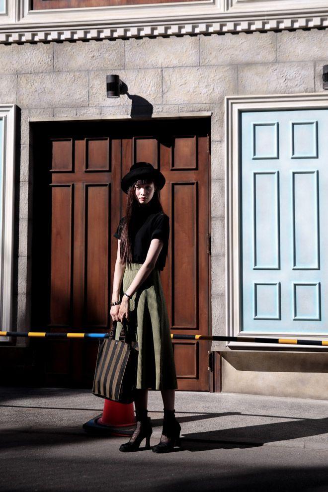 ストリートスナップ原宿 - マンナミユさん   Fashionsnap.com