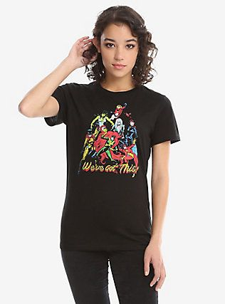 Marvel Ladies Of Marvel Retro T-Shirt,