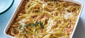 Μακαρόνια στο φούρνο με τυριά