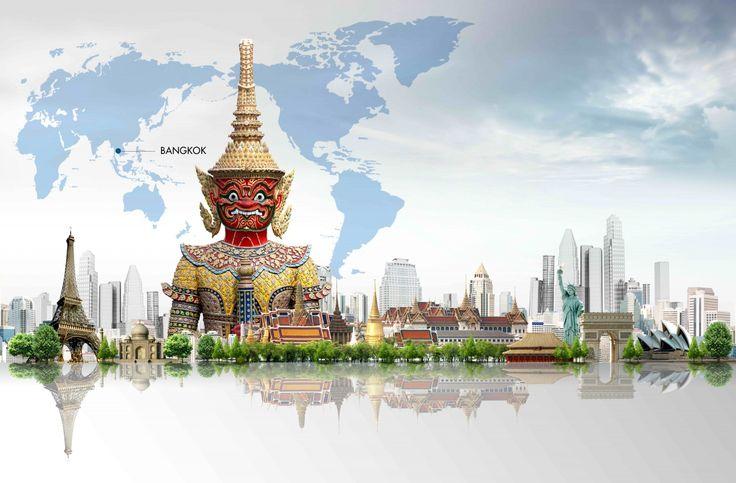 Таиланд Бангкок Города
