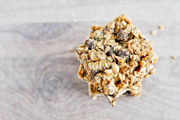 5 Ingredient Peanut Butter Granola Bars